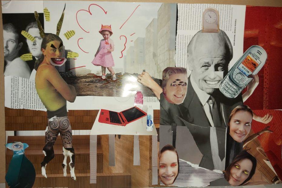 Leonie, collage